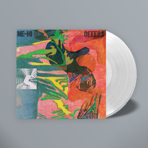 NE-HI - Offers - New Vinyl 2017 Limited Edition CLEAR VINYL Shuga Records Exclusive 200 Made! - Pre-Order - Chicago Dream Pop / Rock / Psych