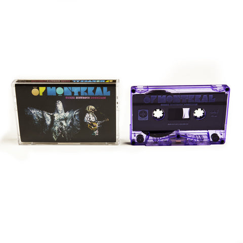Of Montreal ‎– Snare Lustrous Doomings - New Cassette Tape USA 2015 (Limited Edition Purple Tape) - Rock