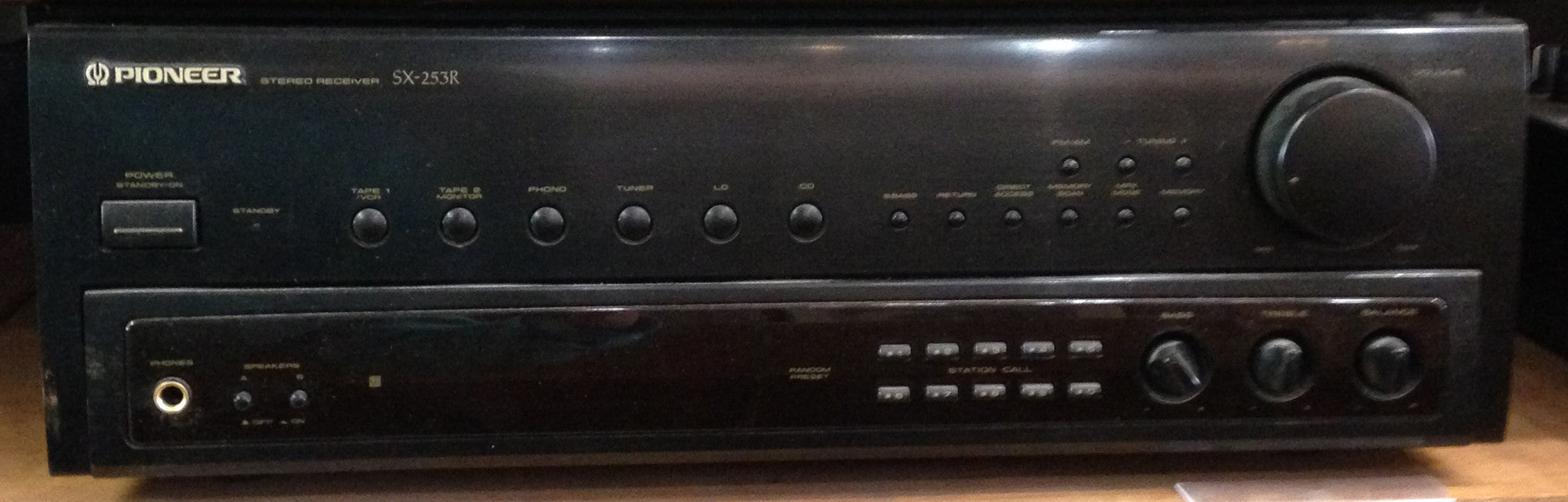 (1995) Japan Made Vintage - Pioneer SX-253r AM/FM Stereo Receiver