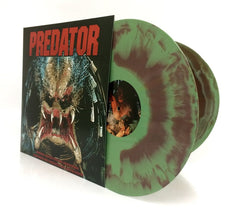 Alan Silvestri / Soundtrack - Predator - New Vinyl 2017 20th Century Fox Gatefold 2-LP First Ever Reissue on 'Brown and Green Camo' Vinyl (Limited to 1300!) - Sci Fi / 90's Soundtrack