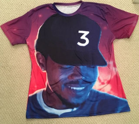 Chance The Rapper Coloring Book 88% Polyester / 12% Spandex Blend T-Shirt