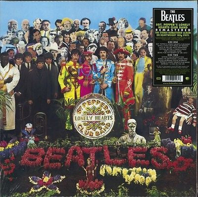 The Beatles - Sgt. Pepper's Lonely Hearts Club Band (1967)- New Lp Record 2012 USA 180 gram Stereo 2009 Digital Remaster from Original Tapes - Psychedelic Rock / Rock & Roll