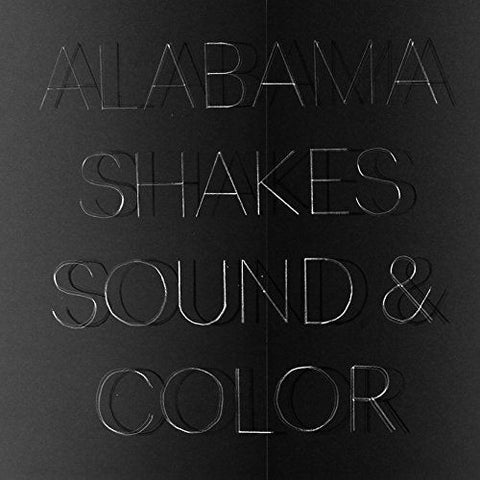 Alabama Shakes - Sound & Color - New 2 Lp Record 2015 USA Clear Vinyl with Download - Alternative Rock / Soul / Blues Rock