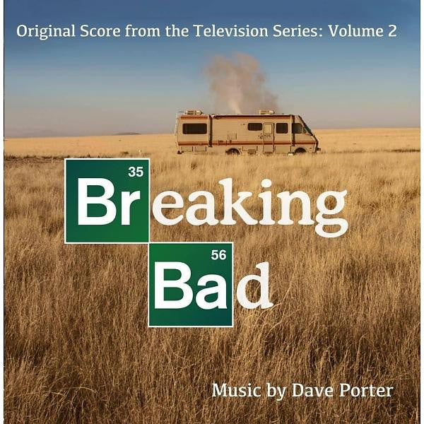 Breaking Bad Original Score from the Television Series: Volume 2 - New Vinyl Record 2014 Gatefold 2 LP w/ Poster, socre composed by Dave Porter They're minerals, Marie - Soundtrack