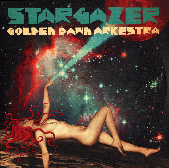 Golden Dawn Arkestra - Stargazer - New Vinyl 2016 Modern Imperial  Limited Edition LP - Jazz-Funk / Psychedelia / Afrobeat