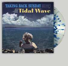 Taking Back Sunday - Tidal Wave - New Vinyl 2016 Hopeless Records Limited Edition Clear w/ Blue + Turqoise Splatter Vinyl + Download - Pop-Punk / Emo / Alt-Rock