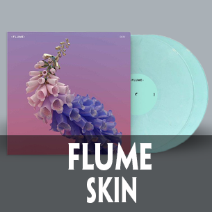 Flume Skin Mom + Pop limited edition peppermint vinyl