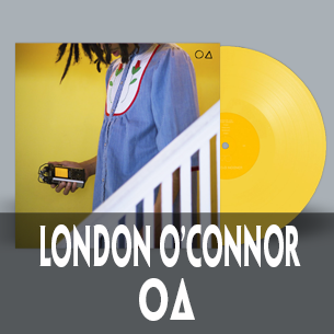 London O'Connor Circle Triangle yellow vinyl
