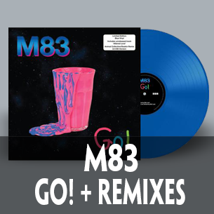 M83 go! twelve inch vinyl featuring animal collective and deakin remix