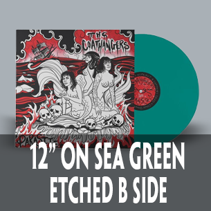 The Coathangers Parasite sea green single sided