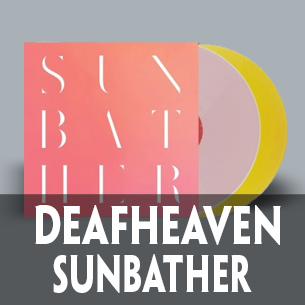 Deafheaven Sunbather 2-LP yellow and pink
