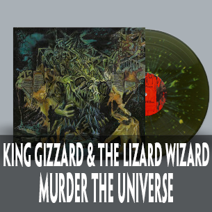 Murder The Universe on vomit splatter vinyl