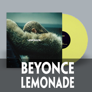 Beyonce Lemonade 2 LP on 180 gram yellow vinyl