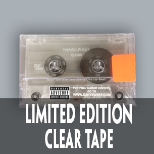 Kanye West Yeezus Clear Tape