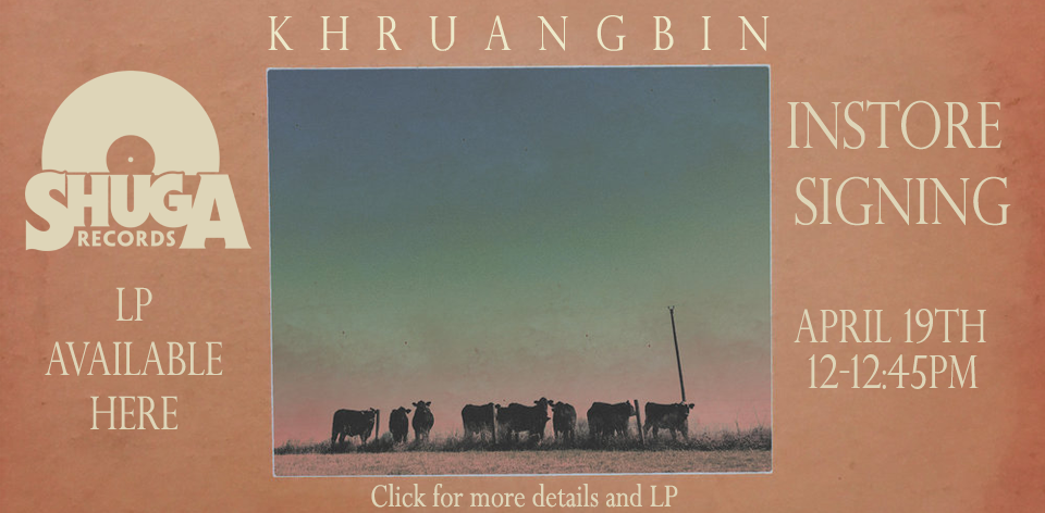 Khruangbin in-store signing / autograph event