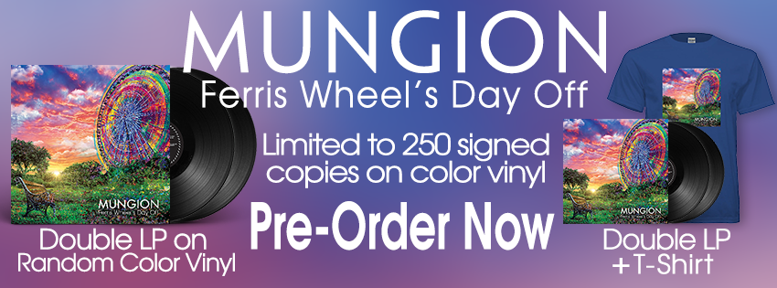 Mungion Ferris Wheels Day Off Random Color Vinyl double LP Gatefold