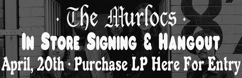 Murloc signing and acoustic performance april 20th