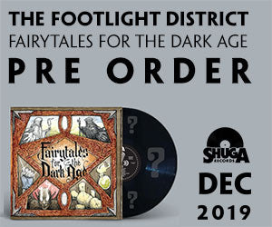 Shuga Record's Pressing of Footlight District's 2019 Record Fairytales For the Dark Ages. Limitewd to 150 Copies, signed and pressed on random colored vinyl.