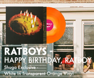 Ratboys - Happy Birthday, Ratboy Shuga Exclusive White In Transparent Orange Vinyl