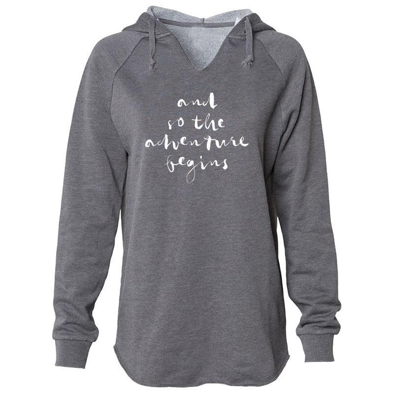 And So The Adventure Begins Hoodie