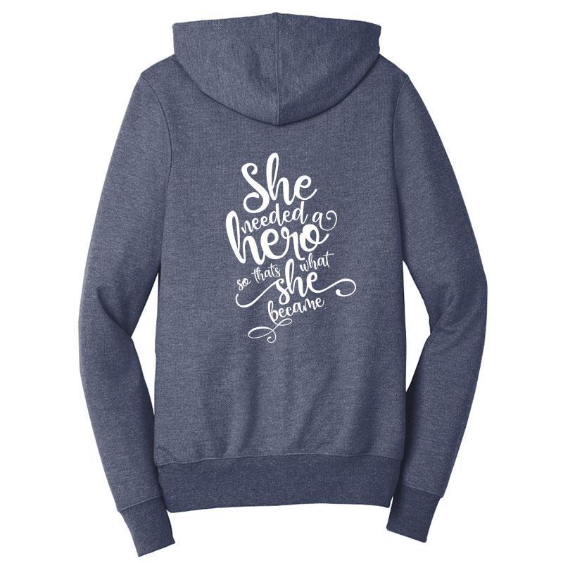 She Needed A Hero Zip-Up