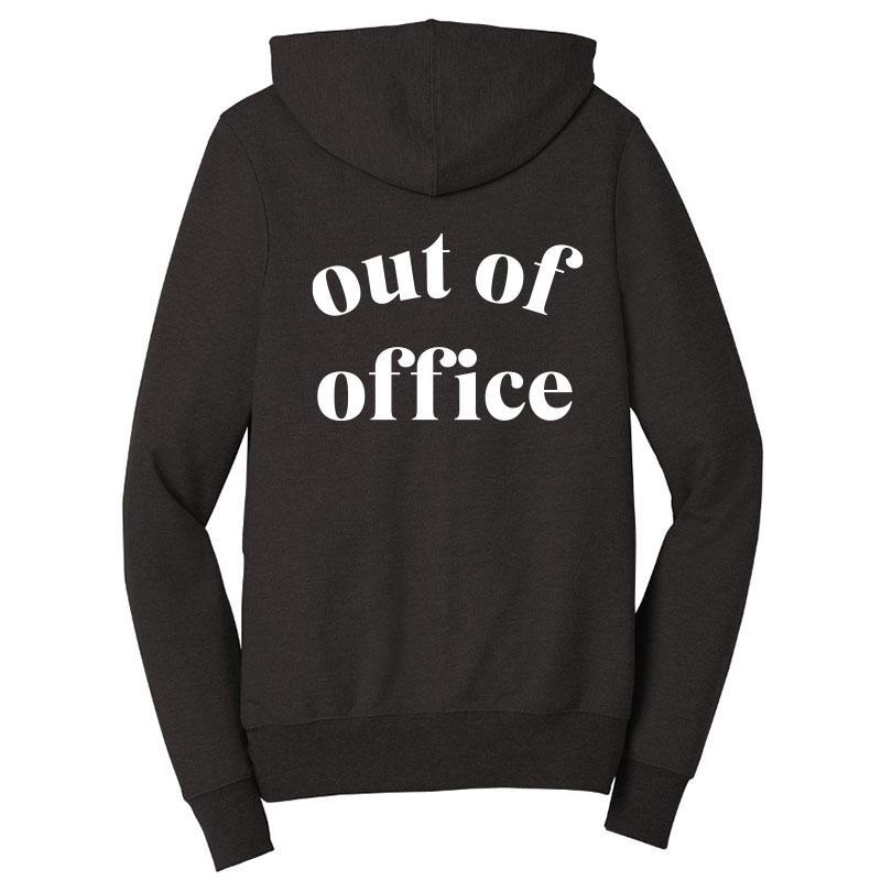 Out Of Office Zip-Up