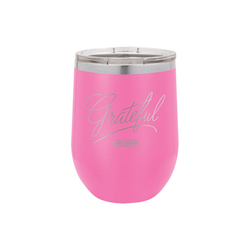 Grateful Stemless Wine Cup 12oz