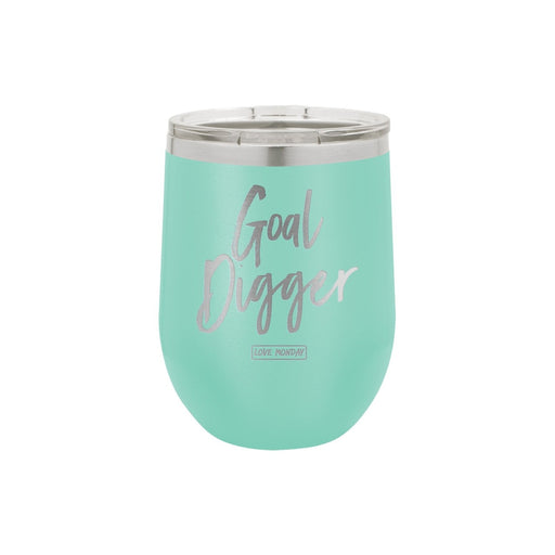 Goal Digger Stemless Wine Cup 12oz