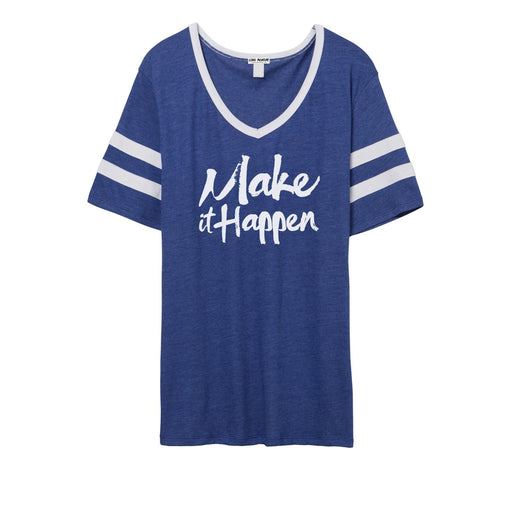 Make It Happen Women's Varsity Tee