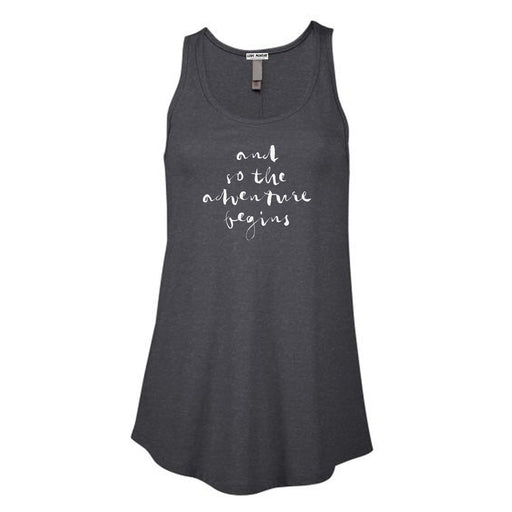 And So The Adventure Begins Women's Flowy Tank