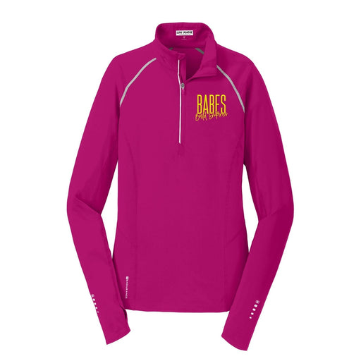 Babes Build Empires Women's Endurance 1/4 Zip Pullover