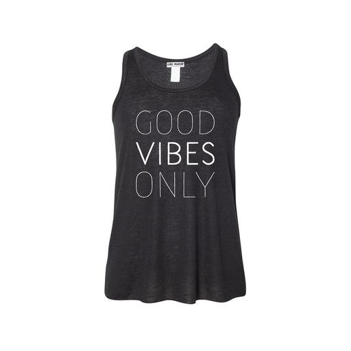 Good Vibes Only Girls Flowy Racerback Tank