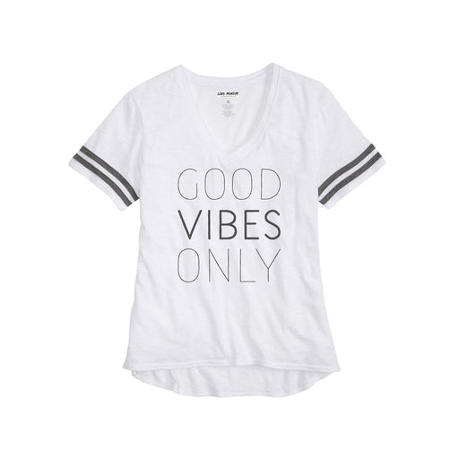 Good Vibes Only Girls Sporty Tee