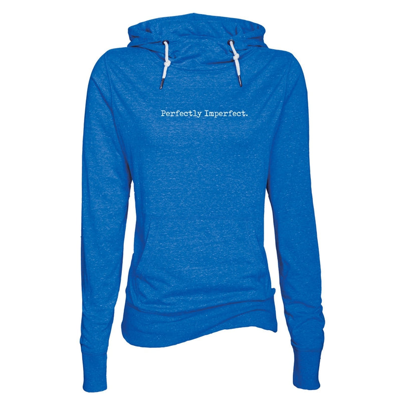 Perfectly Imperfect Women's Lightweight Funnel Neck Hoodie