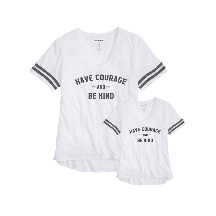 Have Courage Sporty Tee Mom & Me 2 Pack