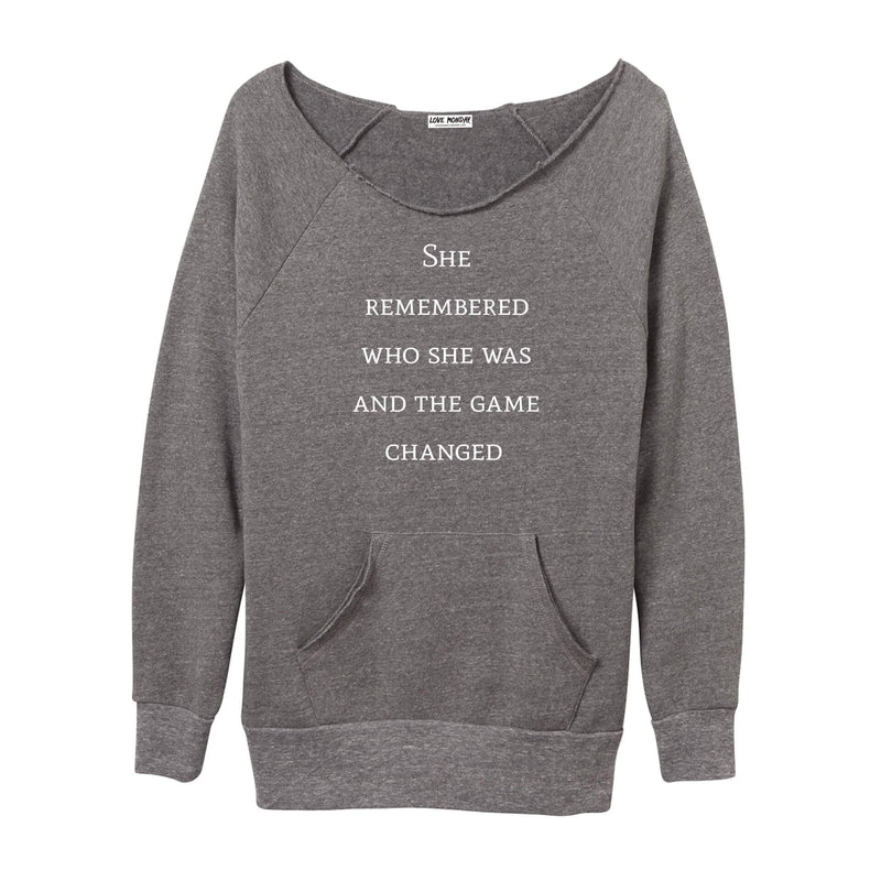 The Game Changed Sweatshirt