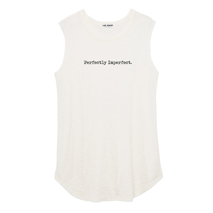 Perfectly Imperfect Women's Muscle Tee