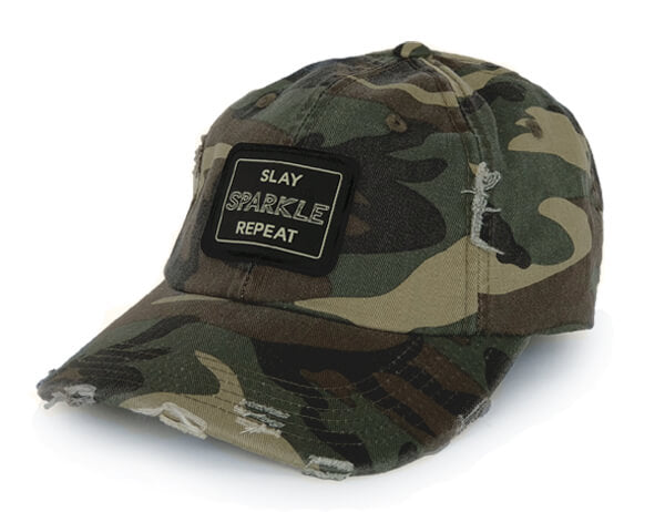 Slay Sparkle Repeat Hat – Love Monday Apparel 407b25a0ad3