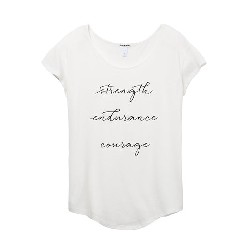 Strength Endurance Courage Women's Origin Tee