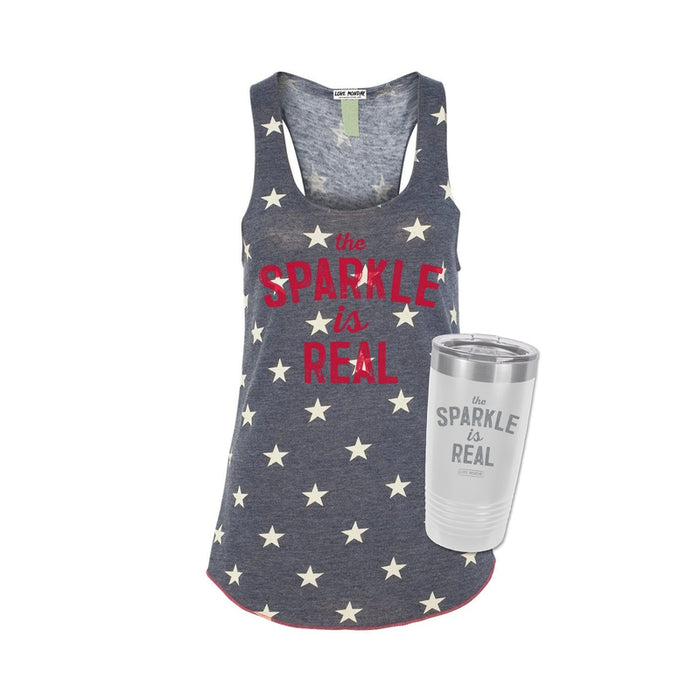 The Sparkle Is Real Star Tank & Tumbler Bundle