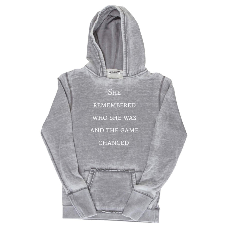 The Game Changed Hoodie