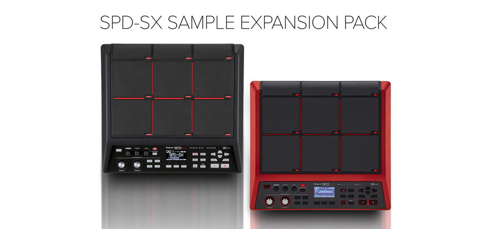 Roland SPD-SX Free Samples