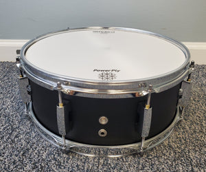 "Hawk Custom 14"" Electronic Snare in Satin Black"
