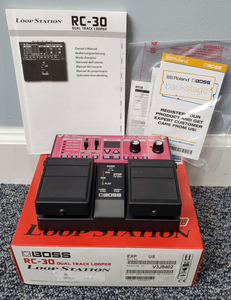 Boss RC-30 Looper Station Used - MINT Condition