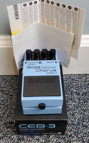 Boss CEB-3 Bass Chorus Pedal Used - MINT Condition