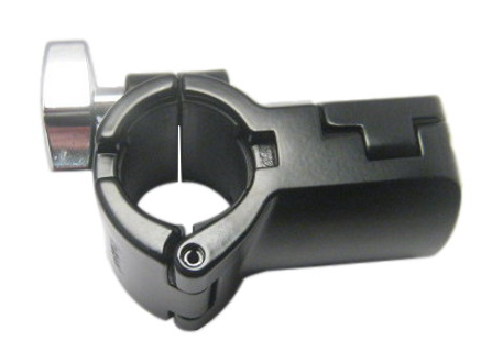 Roland Black Pipe Holder T-Clamp - 5100028156 - edrumcenter.com