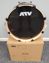 "Load image into Gallery viewer, ATV aD-K18 18"" Kick Drum w/ custom Top Plate Used"