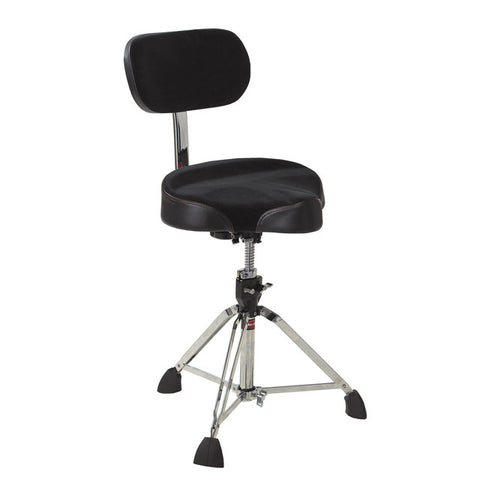Gibraltar 9608MB Drum Throne with Backrest - edrumcenter.com