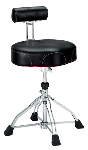 Tama HT741B Drum Throne with Backrest - edrumcenter.com