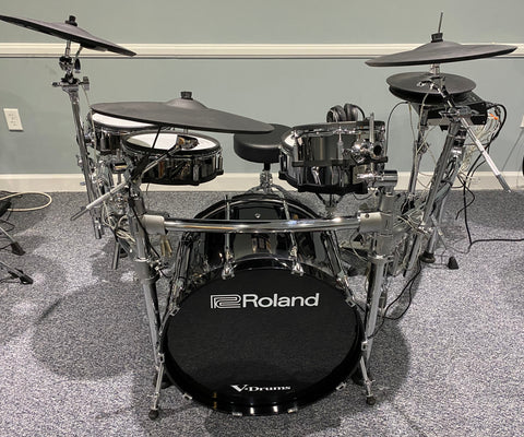 "Roland TD-50KV w/ LTD Edition 22"" Kick Drum - Used - edrumcenter.com"